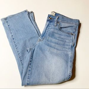 J Crew Vintage Straight jeans cropped size 27